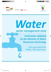 Water sector management tools validated by MINEE